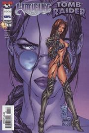 Witchblade Tomb Raider #1 Silvestri Purple Incentive Variant